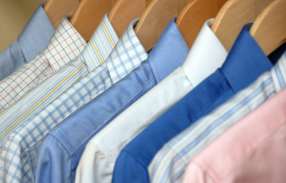 How to wash dress shirts