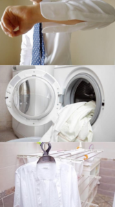 How to wash classic shirts at home